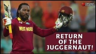 Chris Gayle's century against Zimbabwe in ICC Cricket World Cup 2015: Return of the juggernaut
