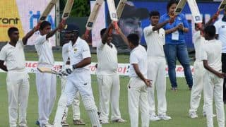 India in firm control amidst Kumar Sangakkara's emotional farewell in 2nd Test at Colombo