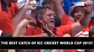Video: Best catch of ICC Cricket World Cup 2015?