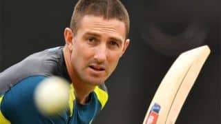 Carey confident of Marsh return for second ODI