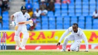 West Indies' Kraigg Brathwaite reported for suspected illegal bowling action