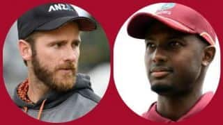 West Indies vs New Zealand: windies win toss and opt to bowl first