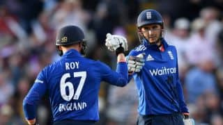 Hales, Roy record-breaking opening stand ease ENG to 10 wickets win