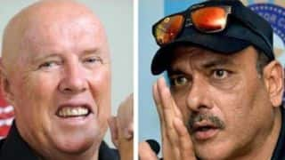 Ravi Shastri hits out at Kerry O'Keefe's crude comments directed at Mayank Agarwal