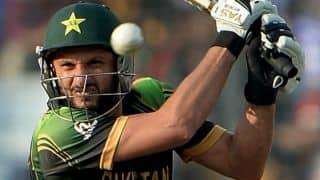 Sri Lanka vs Pakistan 2014, 3rd ODI at Dambulla: Pakistan lose Shahid Afridi, Wahab Riaz quickly