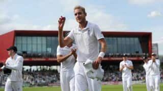 Sturat Broad returns to Reliance ICC Top 10 bowlers rankings