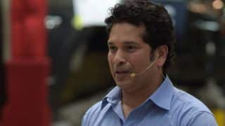 Sachin Tendulkar calls on cricketers to respect their opposition