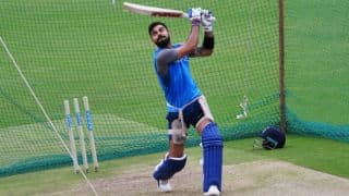 Virat Kohli uses shorter bat handle to better his drives