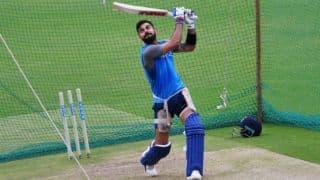 Virat Kohli uses shorter bat handle to better his drives
