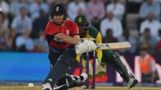 Jonny Bairstow's prolific unbeaten 60 allows England to beat South Africa by 9 wickets in 1st T20I