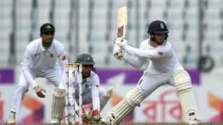 Bangladesh vs England, 2nd Test, Tea report: Alastair Cook, Ben Duckett start steady for visitors chasing 273