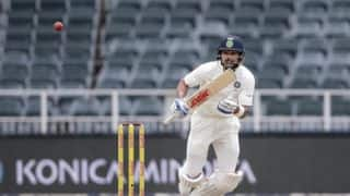 India stretch lead to 93 on 'tricky' Wanderers pitch on Day 3, lunch