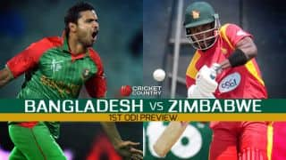 Bangladesh vs Zimbabwe 2015, 1st ODI at Mirpur, Preview: Tigers look to build on home advantage