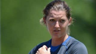 Sarah Taylor practices ahead of Women's ICC World T20 2014