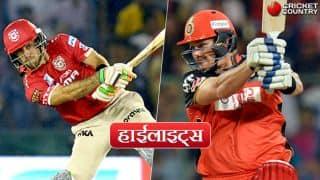 आईपीएल-10, हाईलाइट्स हिंदी में: हाशिम आमला के अर्धशतक की मदद से किंग्स इलेवन पंजाब ने लगातार दूसरी जीत दर्ज की