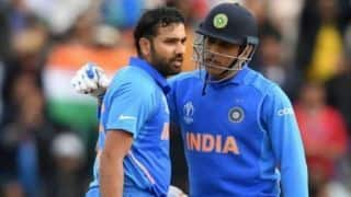 My First double century was best moment with MS dhoni, says Rohit Sharma