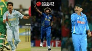 ICC World T20: Harbhajan Singh's 4 for 12 and other top 10 bowling spells in previous editions