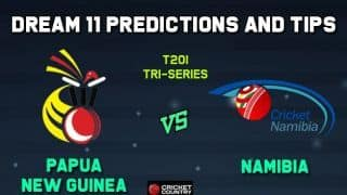 PNG vs NAM Dream11 Team Papua New Guinea vs Namibia, Match 5, Tri-Nations ODI – Cricket Prediction Tips For Today's Match PNG vs NAM at Lauderhill
