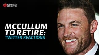 Brendon McCullum to retire: Twitter reactions
