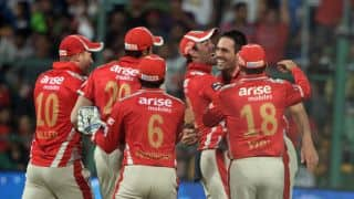 IPL 2015 Auction: Full list of players bought by Kings XI Punjab (KXIP) for IPL 8