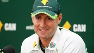 Ashes 2013-14: Michael Clarke chats with Australia PM Tony Abbott