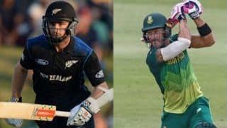 न्यूजीलैंड ने टॉस जीतकर चुनी गेंदबाजी, द. अफ्रीका की टीम में लुंगी एंगिडी की वापसी