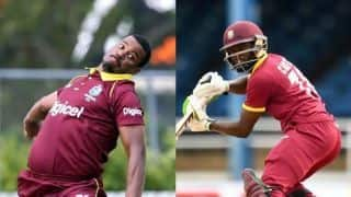 Gabriel, Carter recalled as West Indies name depleted squad for Ireland tri-series