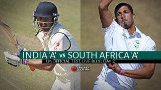 IND 342/6 | Live Cricket Score India A vs South Africa A, 2nd unofficial Test, Day 2: India A lead by 82 runs