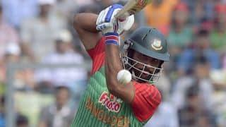 Tamim Iqbal completes 6th ODI century during Bangladesh-Pakistan 2015 2nd ODI at Mirpur