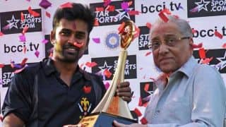 Vijay Hazare Trophy 2015-16: Points Table and teams standings