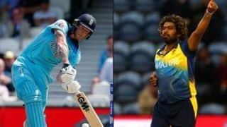 बेन स्टोक्स पर भारी पड़े मलिंगा, 20 रन से जीता श्रीलंका