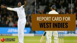 England vs West Indies, 2017 Test series: Marks out of 10 for Jason Holder and co.