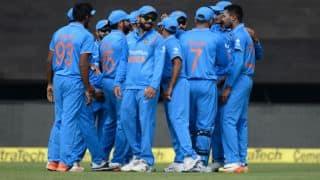 चौथे वनडे के लिए बैंगलोर पहुंची टीम इंडिया, एयरपोर्ट पर लगे नारे: देखें वीडियो