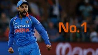 Kohli eyes 5-1 against SA; India begin journey as No.1 ODI side