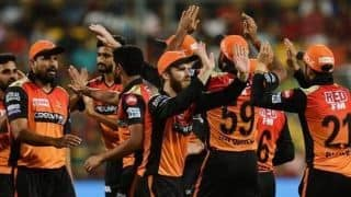 IPL 2019: Sunrisers Hyderabad become first team to qualify for Playoffs with 12 points