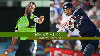 Live Cricket Score, Ireland vs Scotland 2015, 2nd T20I at Bready: Match abandoned due to rain