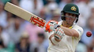 India vs Australia: David Warner happy to be rested ahead of tour