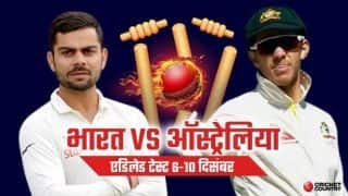 India vs Australia, 1st Test, Day 4 Live Cricket Score and Updates adelaide