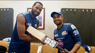 IPL 2016: Kieron Pollard challenged by Ambati Rayudu to beat his longest 6 record!