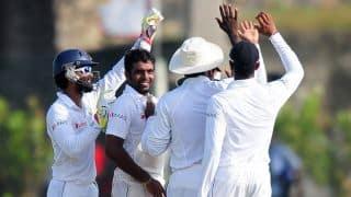 Perera puts Sri Lanka on top at Lunch; SA 150/5