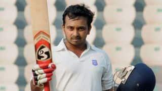 Kedhar Jadhav helps Rest of India to take slander lead against Karnataka