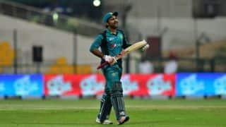 Sarfraz Ahmed gets four-match suspension over Andile Phehlukwayo comments