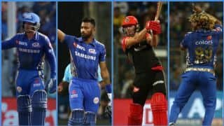 IPL 2019, Mumbai vs Bangalore: Hardik Pandya's knock, Lasith Malinga's 4-wicket haul and other notable performances from MI-RCB clash