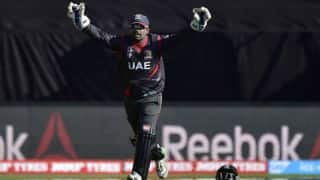 United Arab Emirates (UAE) crush Papua New Guinea (PNG) by 9 wickets in ICC Intercontinental Cup tie at Abu Dhabi