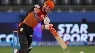 David Warner, Shikhar Dhawan help Sunrisers Hyderabad make good start against Royal Challengers Bangalore, IPL 2014