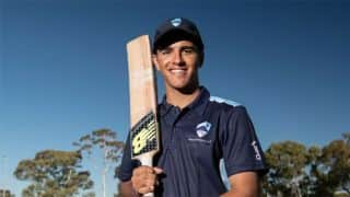 Australian teenager blasts six sixes in an over scoring a double century in an  U19 one-day game