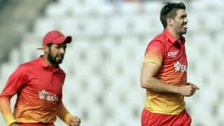 Zimbabwe humiliate Afghanistan in 2nd ODI; level series 1-1