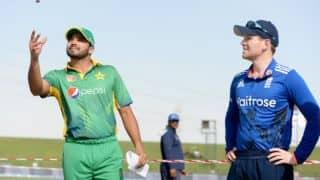 ENG win by 44 runs (D/L Method) | Pakistan vs England, 1st ODI Live Updates