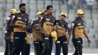 Rajshahi Kings beat Rangpur Riders by five runs