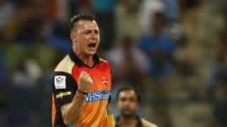 Mumbai Indians lose CM Gautam early in run-chase against Sunrisers Hyderabad in IPL 2014